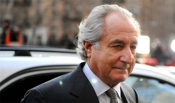 Bernard_Madoff, preso por esquema de pirâmide nos EUA