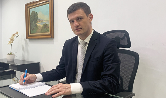 Munir Abud de Oliveira, presidente do Bandes
